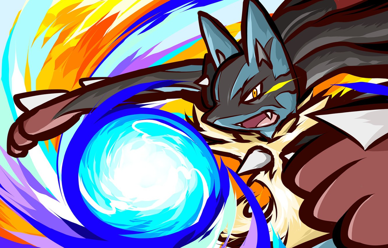 Photo wallpaper Pokemon, Lucario, Megaevolutions, Mega Lucario