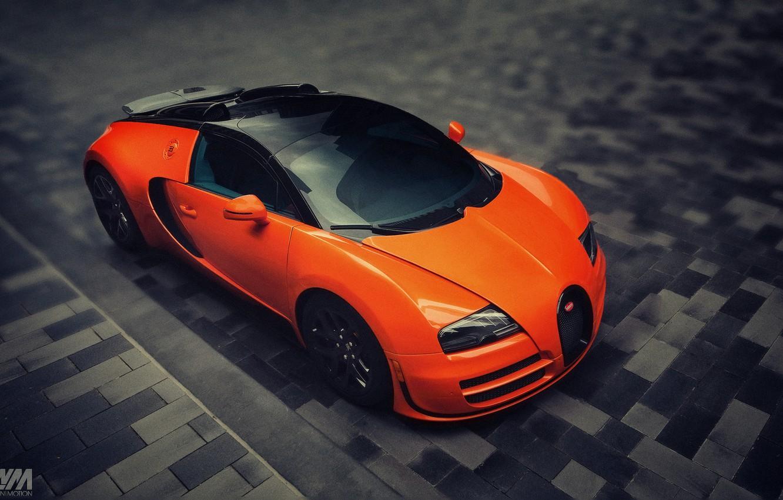 Photo wallpaper pavers, veyron, bugatti