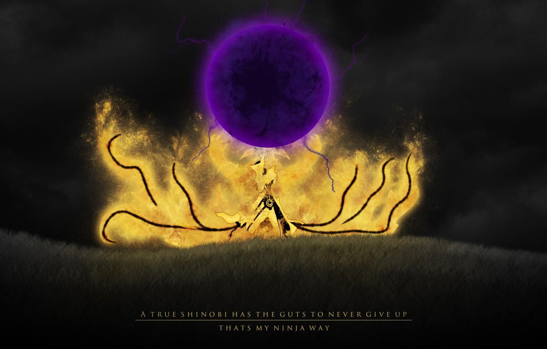 Photo wallpaper Naruto, Rasengan, Bomb