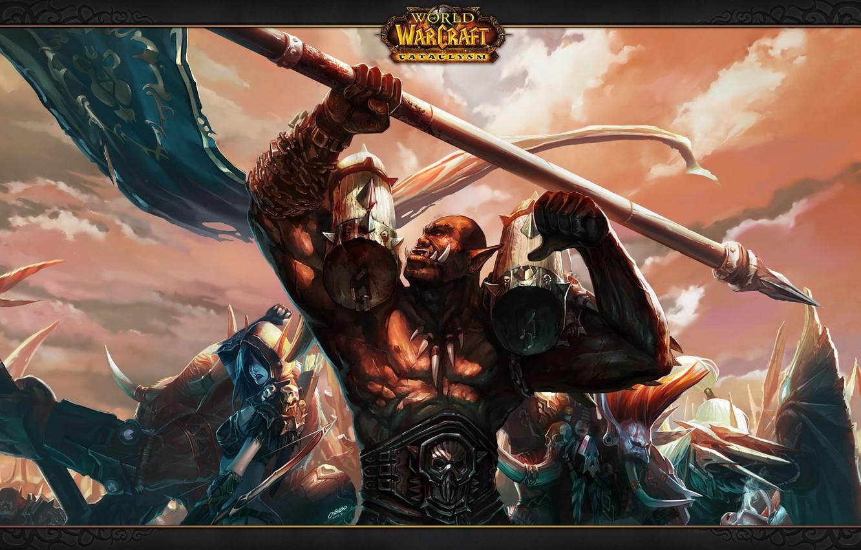 Wallpaper Wow World Of Warcraft Cataclysm Horde Voljin Leaders
