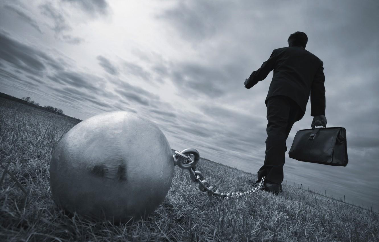 Photo wallpaper destiny, future, chains, worker oppression, steel ball