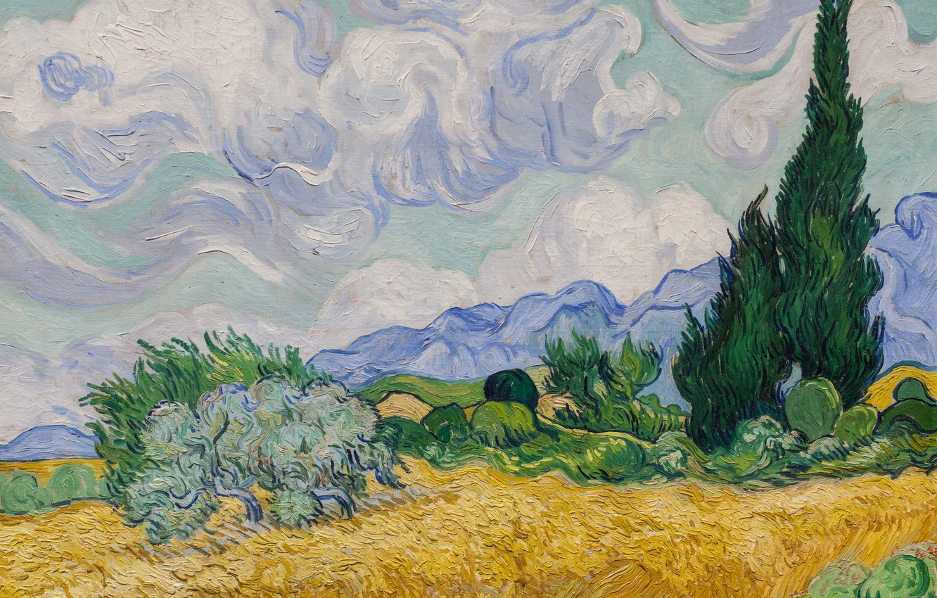 Wallpaper Picture Landscape Painting Van Gogh Images For