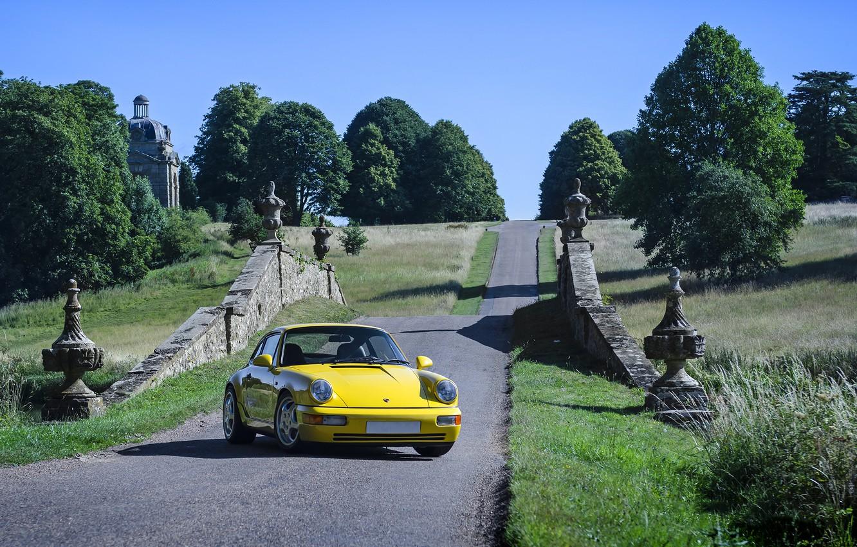 Photo wallpaper Porsche, 964