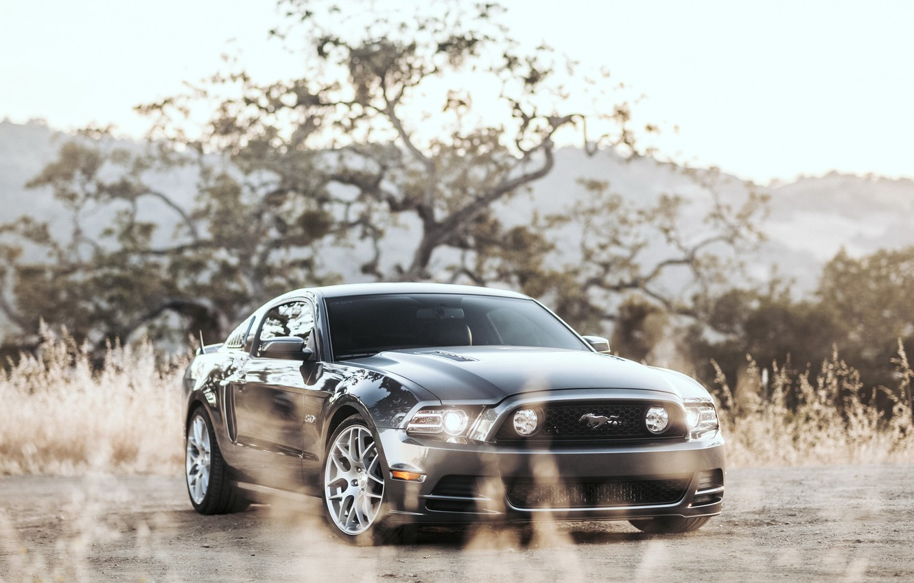 Photo wallpaper Mustang, Ford, Turbo, Twin, GT