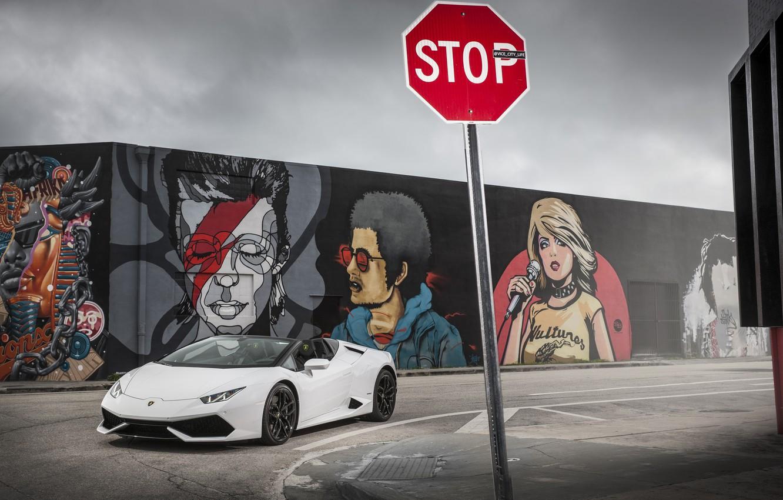 Photo wallpaper Lamborghini, Lamborghini, LP 610-4, Huracan, hurakan