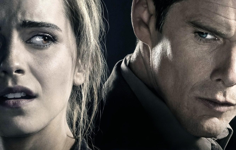 Photo wallpaper Eclipse, Emma Watson, Emma Watson, Ethan Hawke, Ethan Hawke, Regression, Fear always finds its victim
