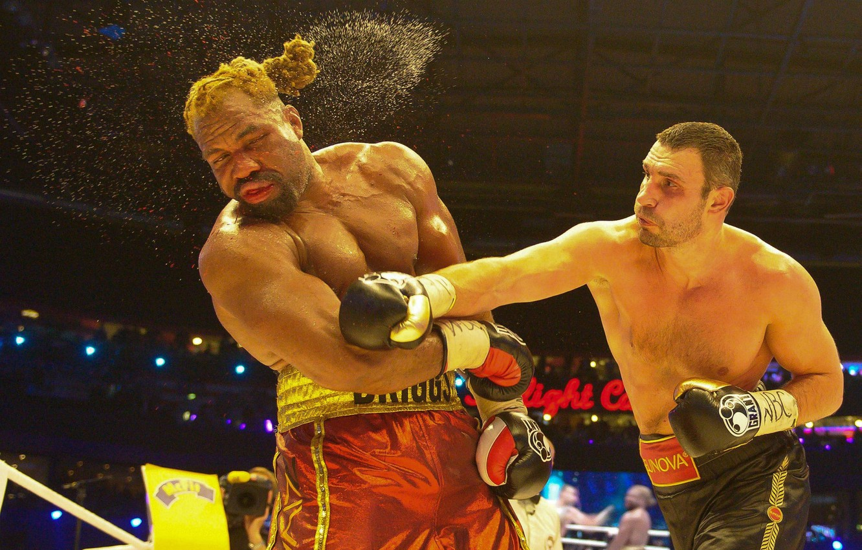 Photo wallpaper Boxing, blow, the fight, Klitschko