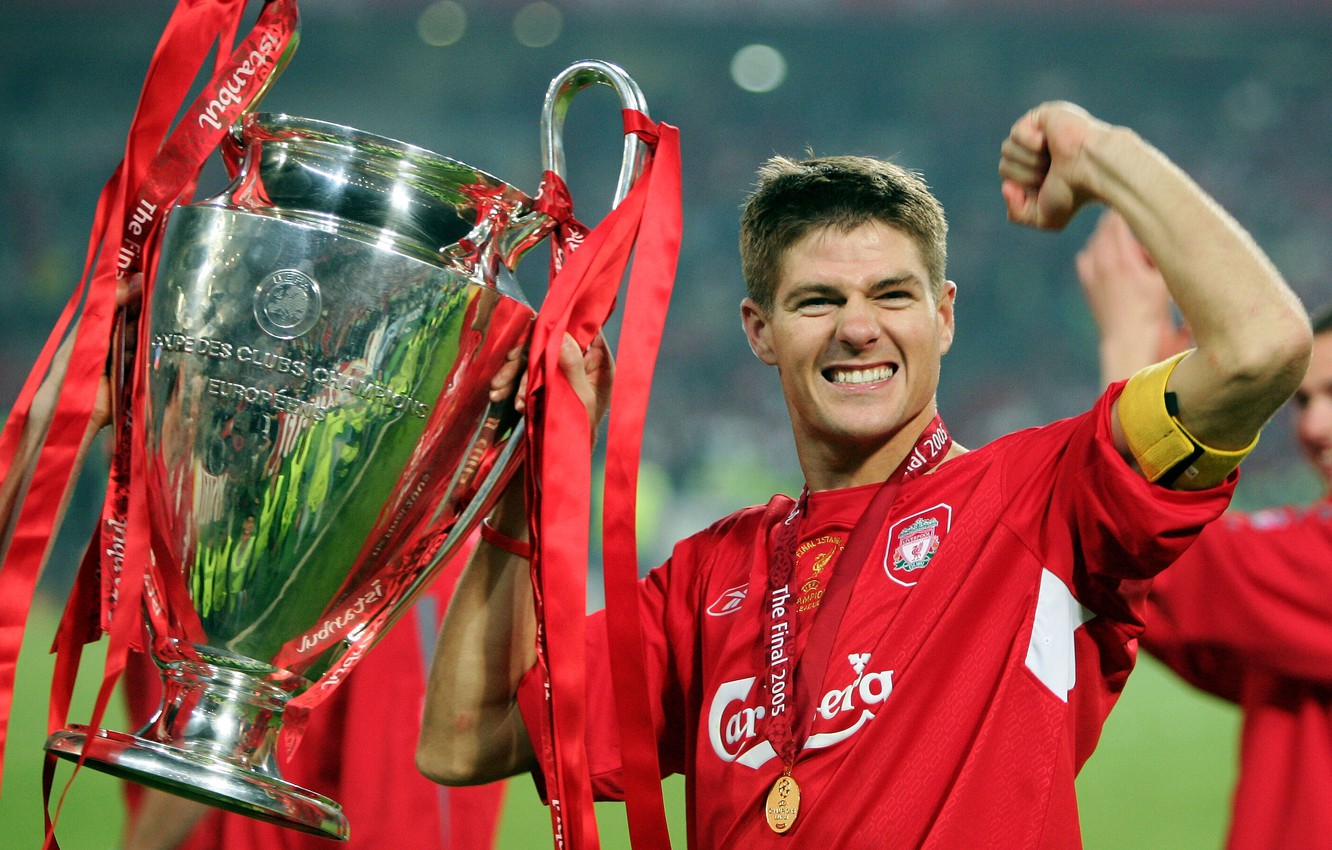 Wallpaper happiness medal Cup Liverpool Liverpool captain