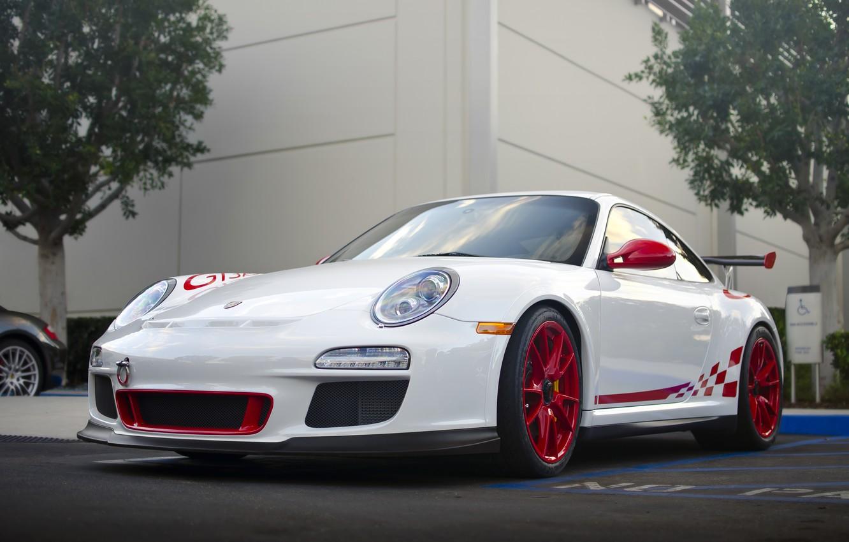 Photo wallpaper 911, Porsche, Porsche, Car, Parking, Supercar, GT 3