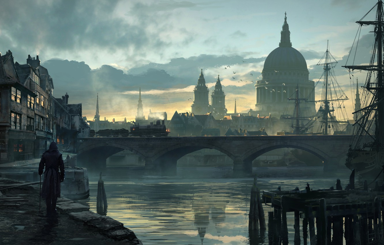 Wallpaper London Assassins Creed Art Syndicate Syndicate
