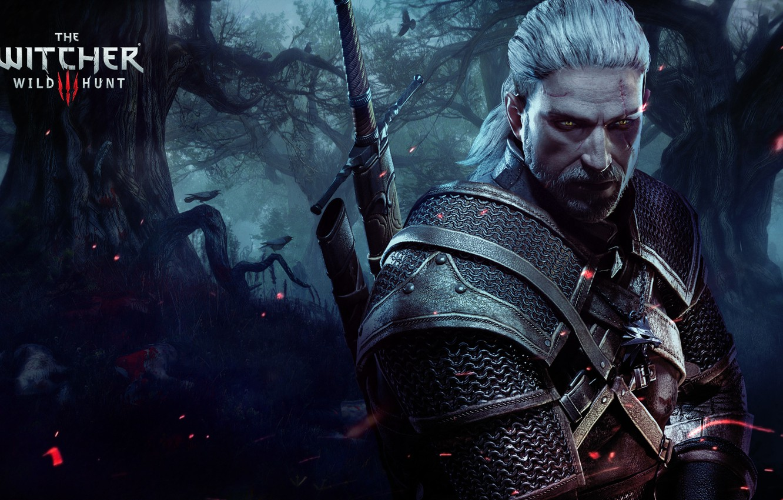 Photo wallpaper The Witcher, Geralt, Witcher