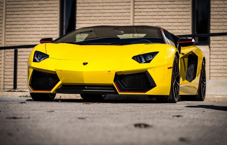 Photo wallpaper Lamborghini, Pirelli, Edition, Avendator