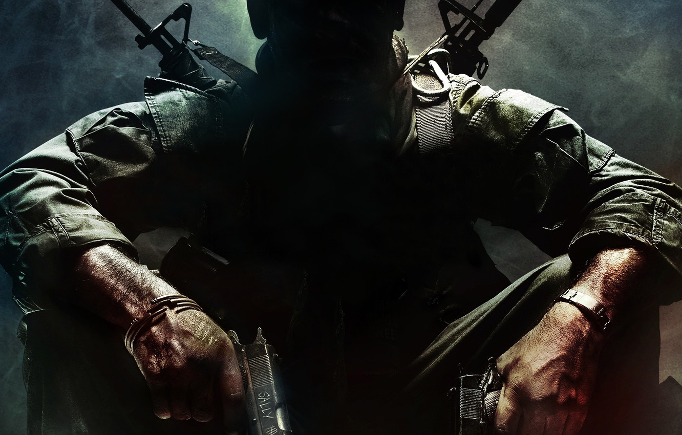 Photo wallpaper weapons, Call of Duty, Black, Ops, duty, call, CoD
