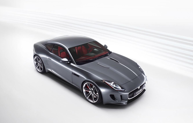 Photo wallpaper machine, Jaguar, concept, the concept, sports car, car, C-X16