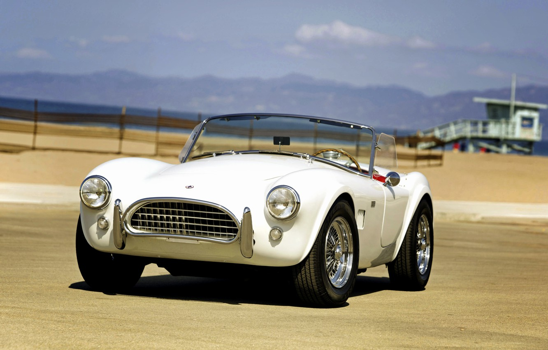 Photo wallpaper beach, Ford, Shelby, Cobra, Ford, Shelby, Cobra, 1964, MkII, AC Cars, 289