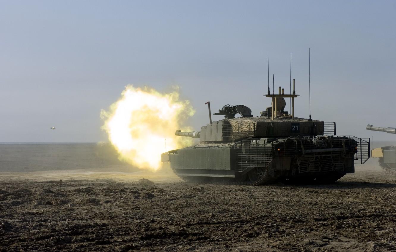 Photo wallpaper Weapons, Tank, Iraq, Challenger 2