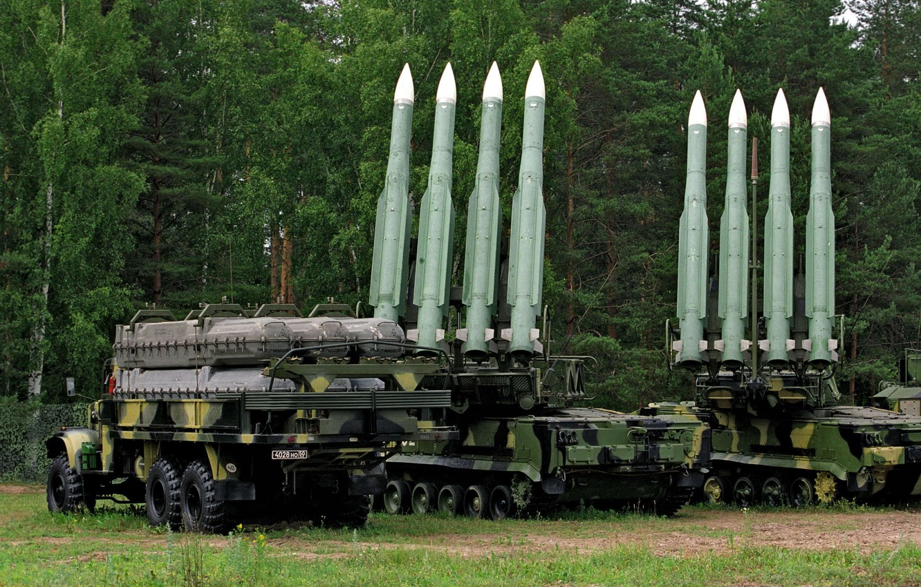 Photo wallpaper army, Russia, Anti-aircraft missile system, SAM Buk-M1