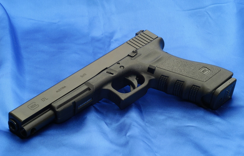 Photo wallpaper Gun, Wallpaper, Weapons, Glock, Glock, Wallpapers, Weapons, 17L, 17L