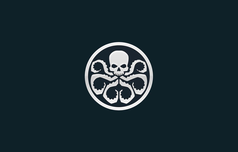 Photo wallpaper sake, logo, symbol, Marvel comic, tentacles, Hail Hydra