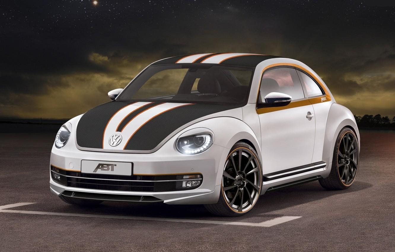 Photo wallpaper background, tuning, Volkswagen, Beetle, tuning, the front, Beetle, Volkswagen, ABBOT, Beatle, hatchback, Sportsline