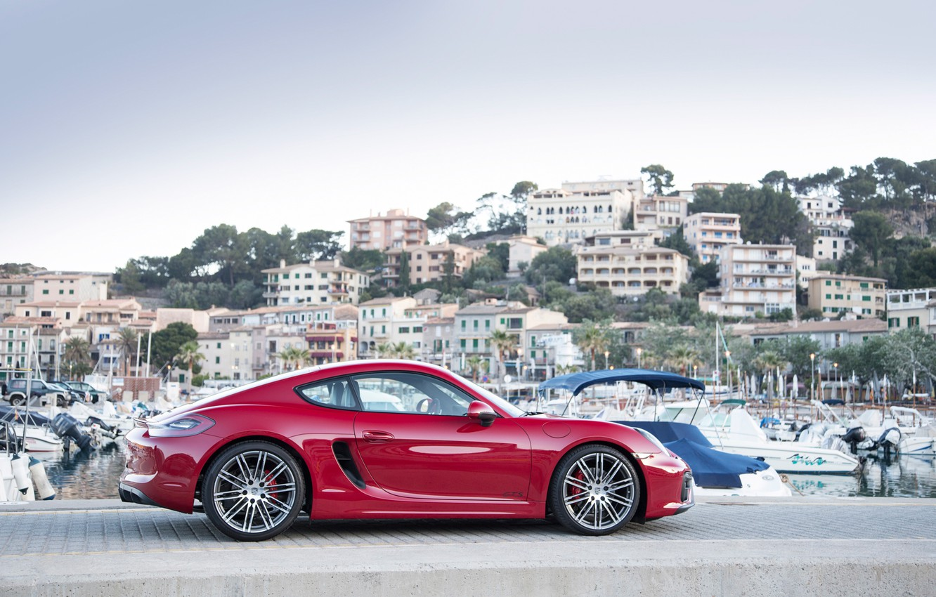 Photo wallpaper Porsche, Cayman, GTS