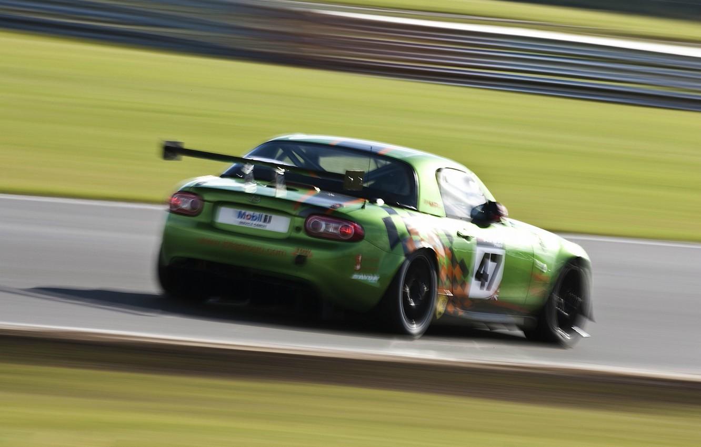 Photo wallpaper race, tuning, Mazda, track, Mazda, miata, GT4, MX-5