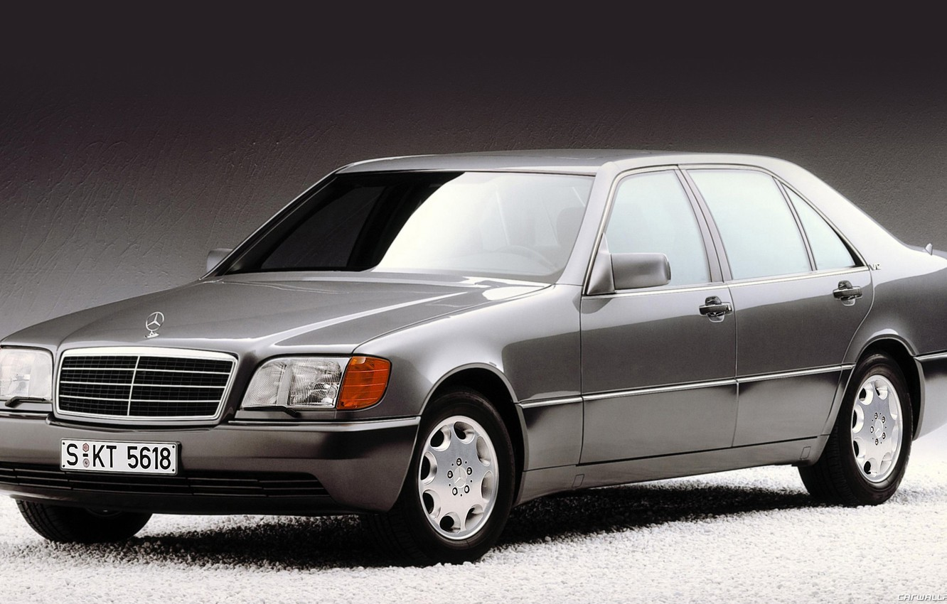 Photo wallpaper Mercedes-Benz, s600, w140