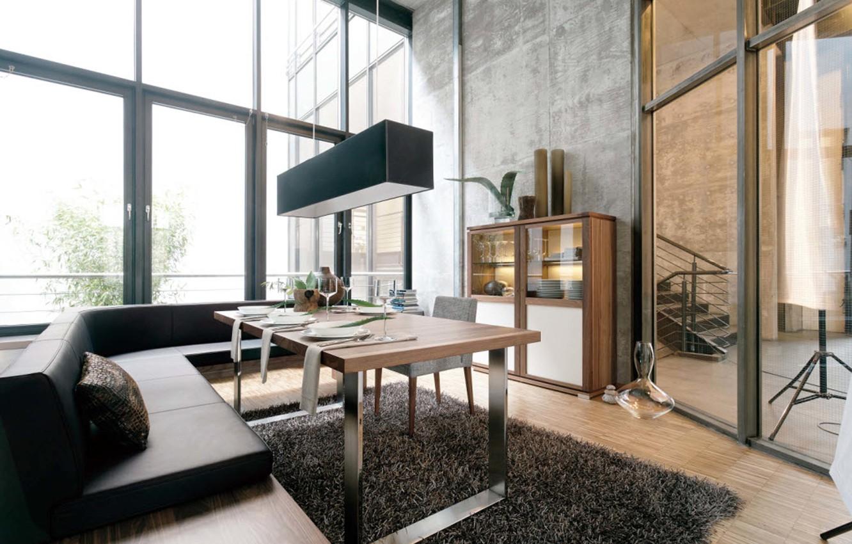 Photo wallpaper design, style, room, interior, modern, room, dining room, loft, loft, dining