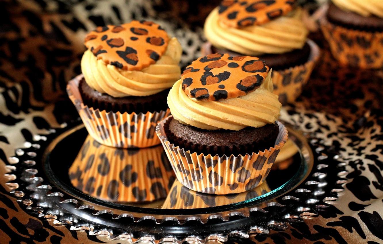 Photo wallpaper sweets, cake, cream, dessert, cakes, cupcakes