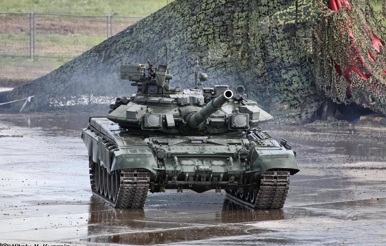 Photo wallpaper tank, performances, T90