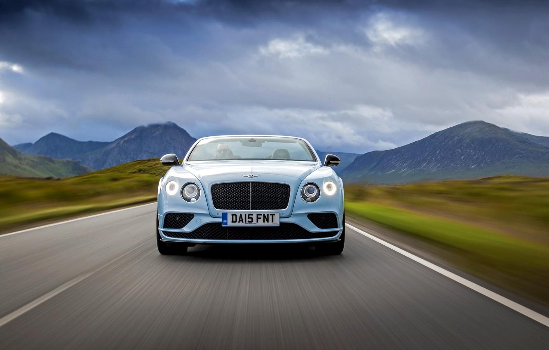 Photo wallpaper Bentley, Continental, convertible, Bentley, continental, Convertible, 2015