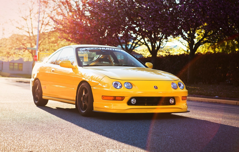 Photo wallpaper sport turbo wheels honda black japan jdm