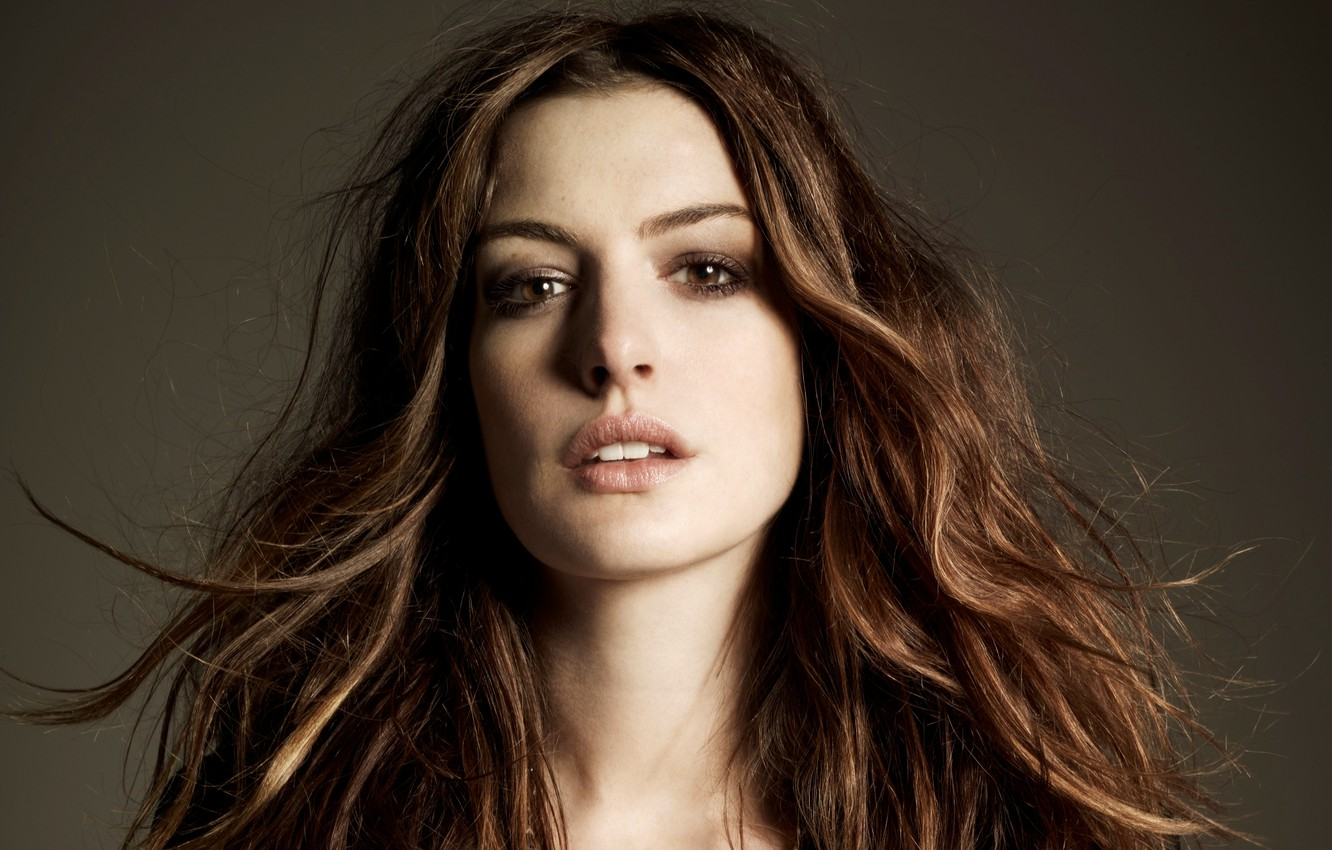 Photo wallpaper girl, actress, celebrity, Anne Hathaway