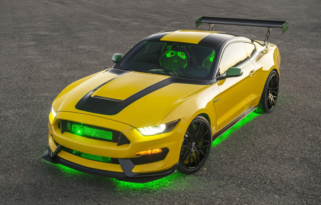 Photo wallpaper Mustang, Ford, Shelby, Mustang, Ford, Shelby, GT350