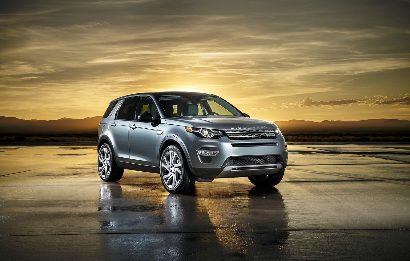 Photo wallpaper Land Rover, Discovery, Sport, 2015