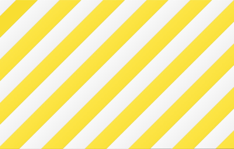 Photo wallpaper strip, white, yellow