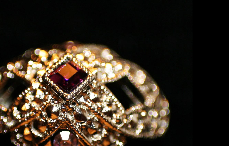 Photo wallpaper stones, ring, jewel, Vintage