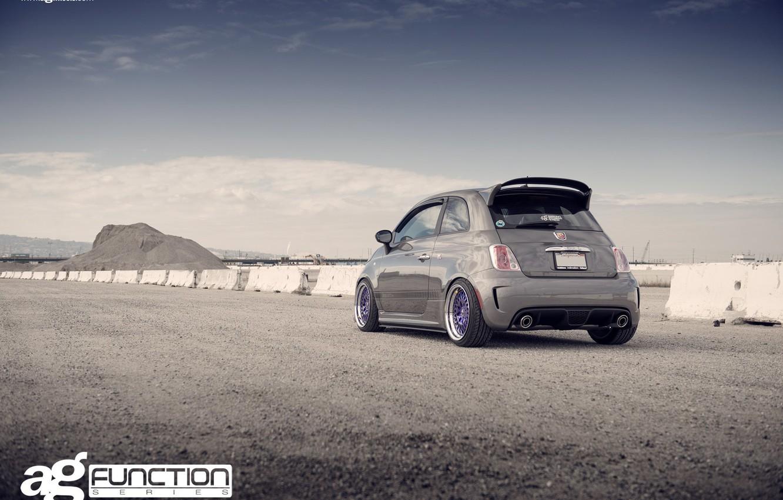 Photo wallpaper 500, Fiat, Fiat Abarth 500