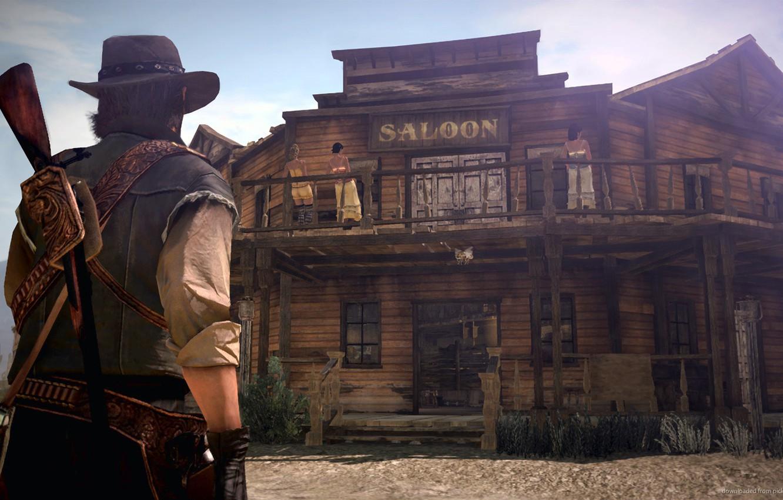 Wallpaper Western Red Dead Redemption Wild West John