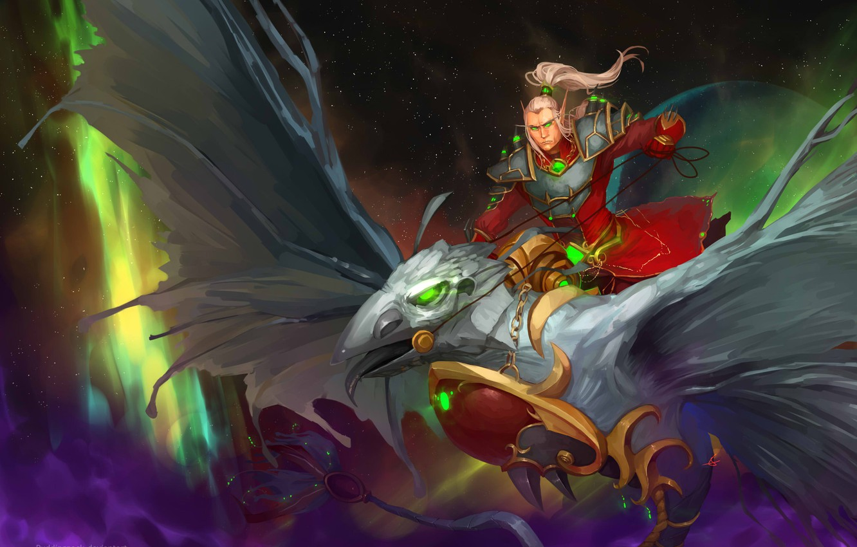 Wallpaper World of warcraft, wow, blood elf, blood elf