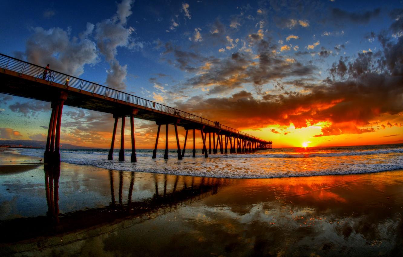 Photo wallpaper the sky, nature, great, Sunset, beauty, Doc, sorgenia