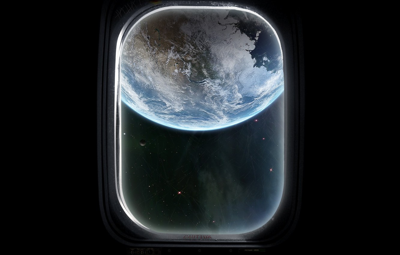 Wallpaper Black Earth The Window Images For Desktop Section Kosmos Download