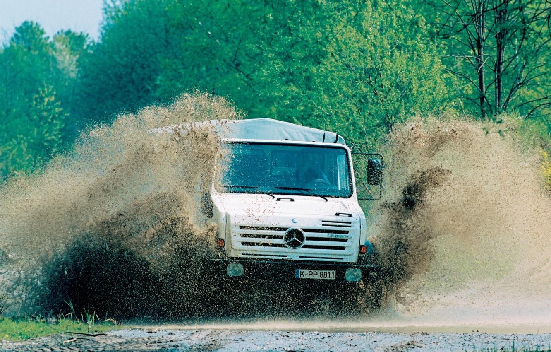 Photo wallpaper truck, mercedes, u5000