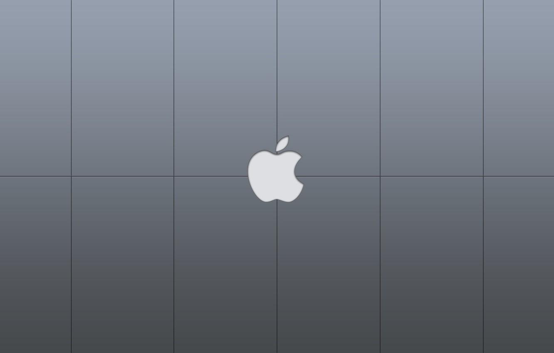 Photo wallpaper apple, Apple, mac, hi-tech