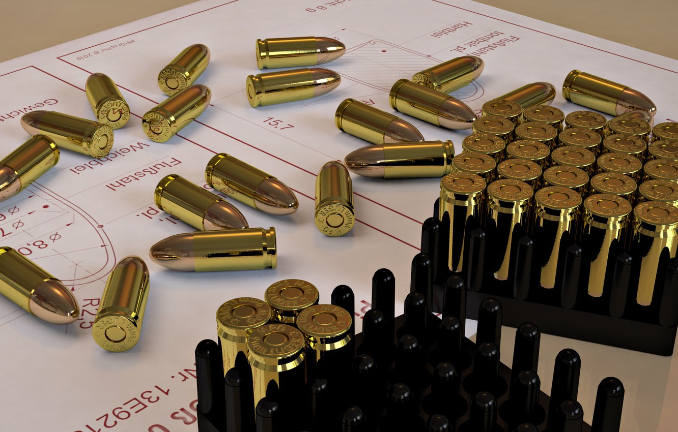 Photo wallpaper precision, ammunition, measurements, Plans