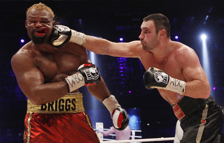 Photo wallpaper Boxing, blow, Klitschko, jelly, KLITSCHKO