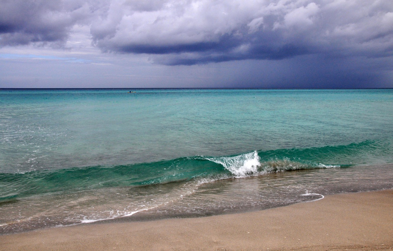 Photo wallpaper sand, sea, summer, water, nature, Cuba, the ocean.landscape