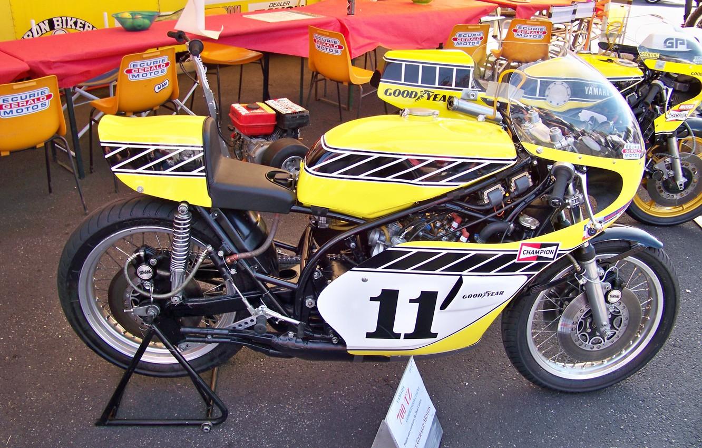 Photo wallpaper motorbike, classicbike, SRC