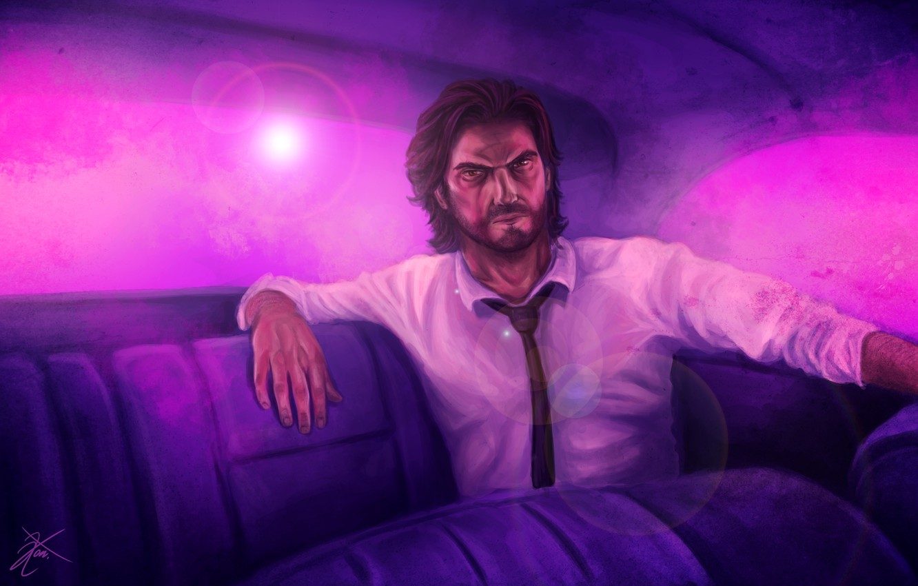 Wallpaper Art Game Art Bigby Bigby The Wolf Among Us Images For Desktop Section Igry Download