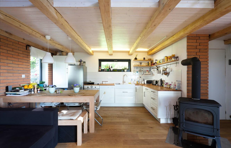 Photo wallpaper interior, kitchen, design. house